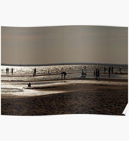 August beach. II Poster