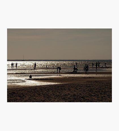 August beach. II Photographic Print