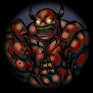 Claw Demon by psychoandy