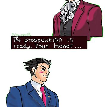 Ace Attorney Lawyers by ainemedb