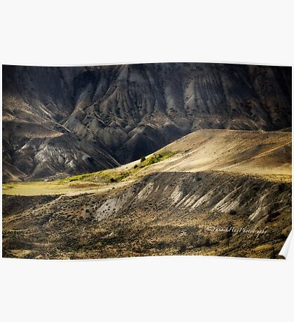 Ashcroft Badlands - British Columbia Poster