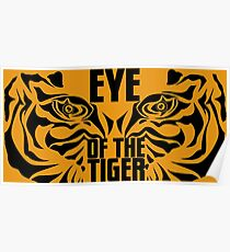 Eye of the tiger - Rocky Balboa Poster