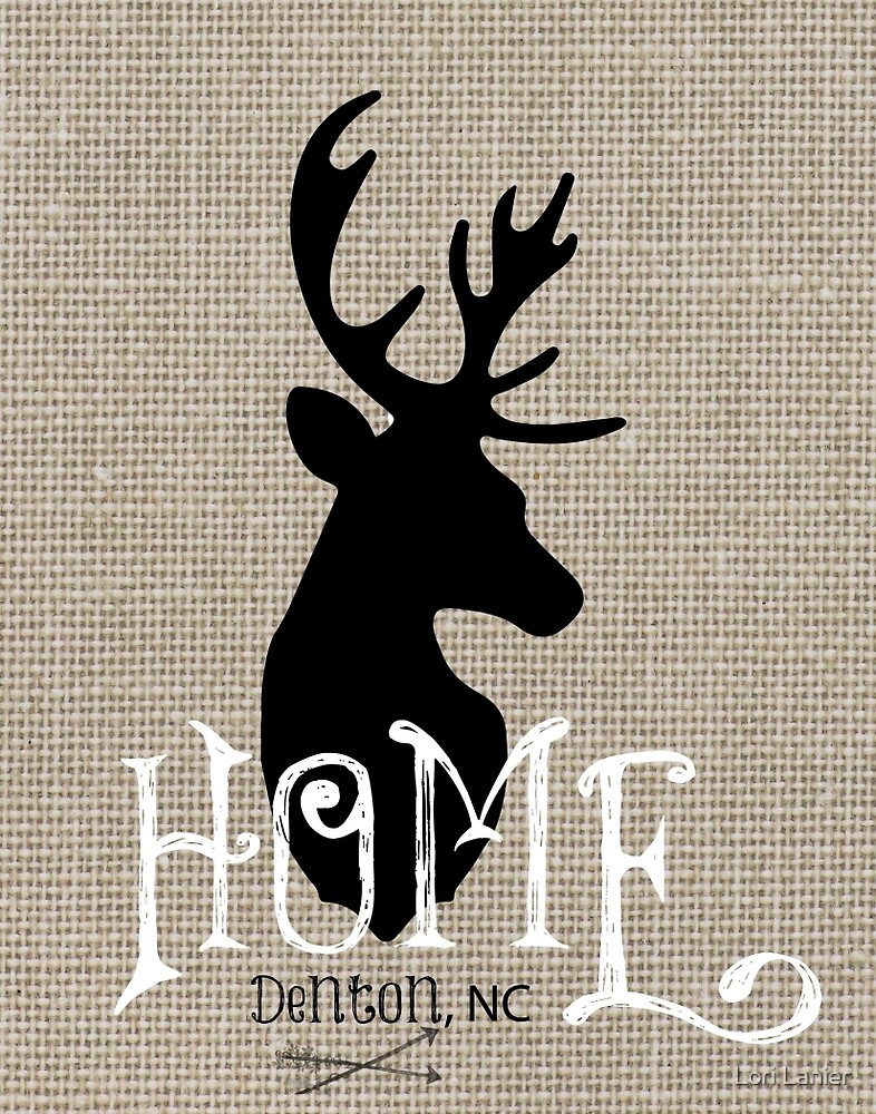I am Home Deer by Lori Lanier