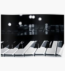 Synth Keyboard Poster