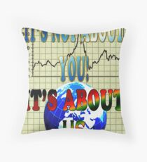 The GFC (Mark II) Throw Pillow