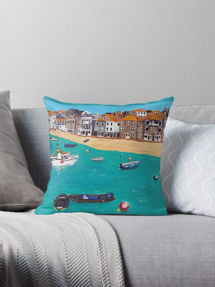st ives harbour by roseanne t