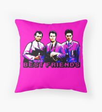 Best Friends - Spooks, Spectres, and Ghosts Throw Pillow