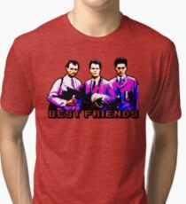 Best Friends - Spooks, Spectres, and Ghosts Tri-blend T-Shirt