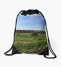 English Landscape Drawstring Bag