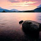 Derwentwater Sunrise, Cumbria. UK by David Lewins