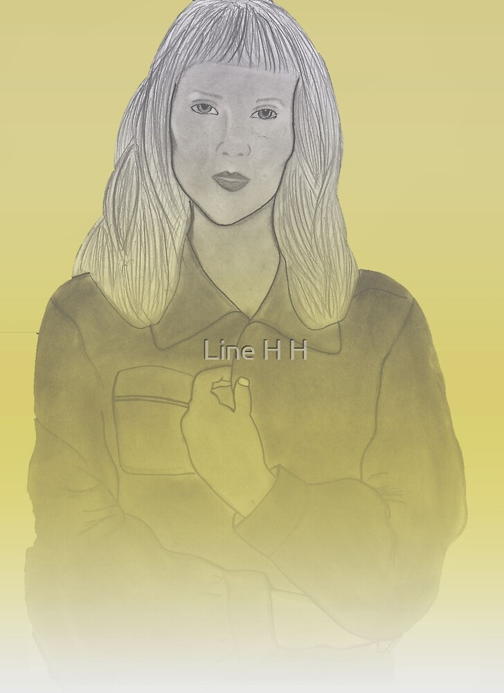 girl in yellow by Line H H