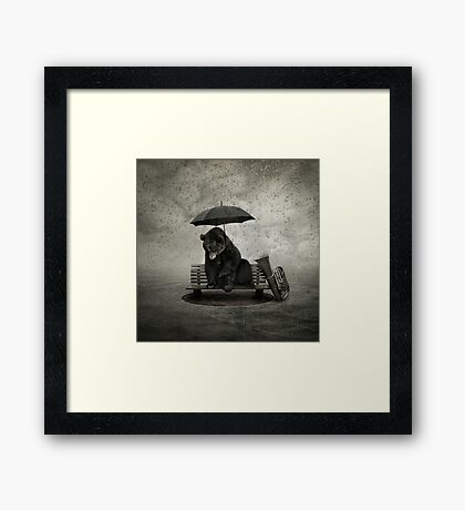Lonely song Framed Print