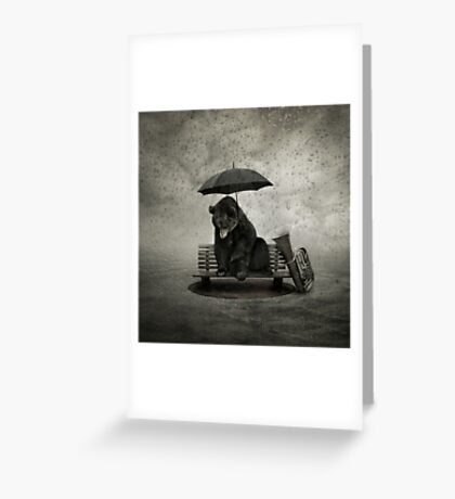 Lonely song Greeting Card