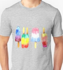 Watercolor Summer Popsicles Unisex T-Shirt
