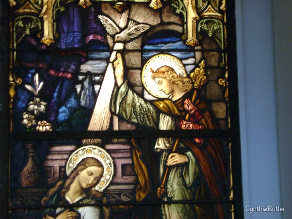 annunciation window by CynthiaButler