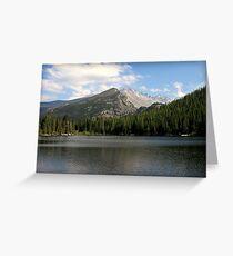Bear Lake Beauty  Greeting Card