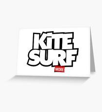 Kite Surf More Greeting Card