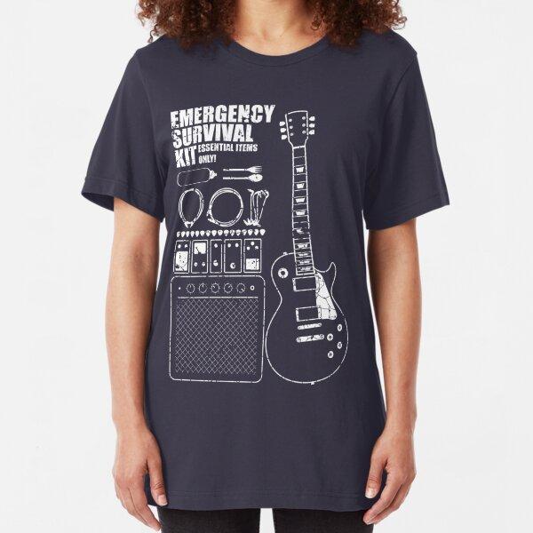 Guitar Survival Kit Slim Fit T-Shirt