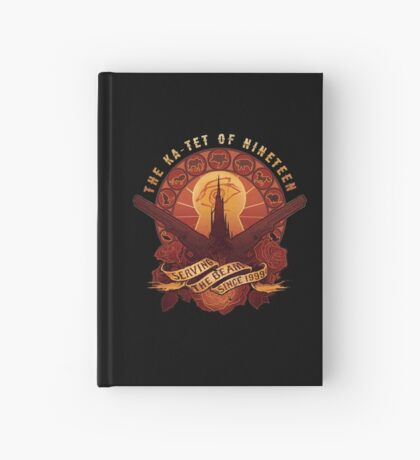 All Things Serve the Beam Hardcover Journal