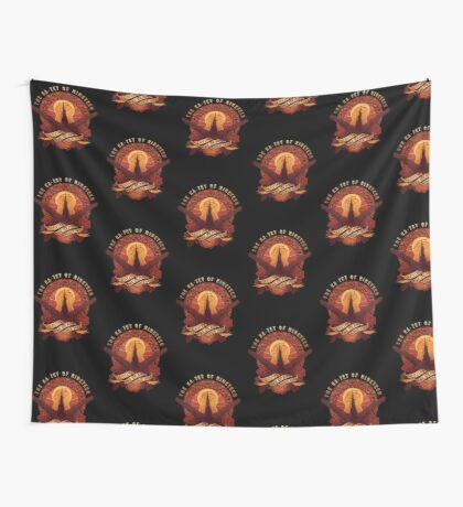 All Things Serve the Beam Wall Tapestry