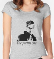 Rory Williams - The pretty one Women's Fitted Scoop T-Shirt