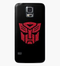 Transformers Autobots Red Case/Skin for Samsung Galaxy