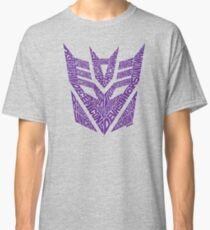 Transformers Decepticons Purple Classic T-Shirt