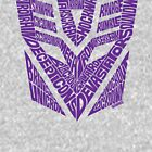 Transformers Decepticons Purple by seaning