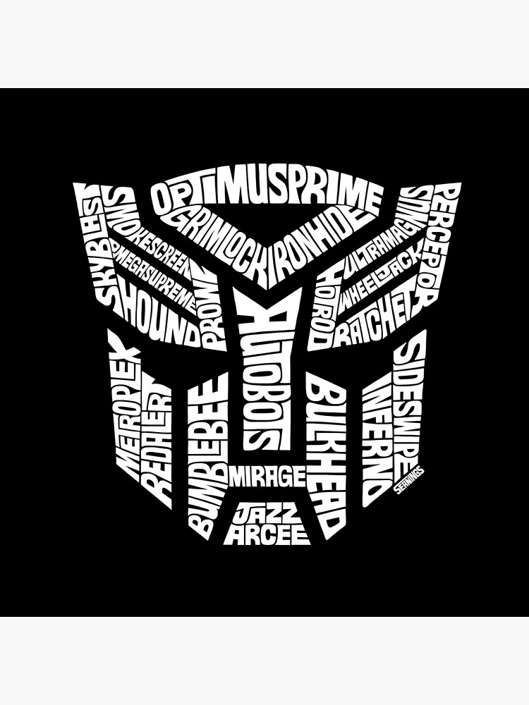Transformer Autobots White by seaning