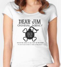 Dear Jim Women's Fitted Scoop T-Shirt