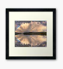 Brush Stroke - Narrabeen Lakes,Sydney - The HDR Experience Framed Print