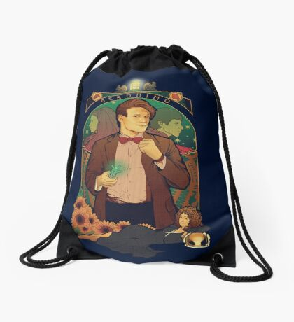 Geronimo! Drawstring Bag