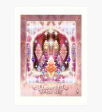 Afterlife (in Celestial Heaven) Art Print