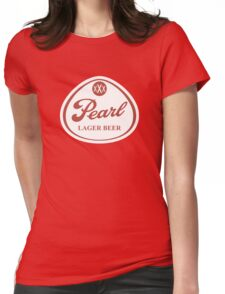 Pearl Lager Beer Womens Fitted T-Shirt