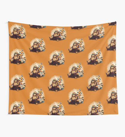 Lucca & Robo Wall Tapestry