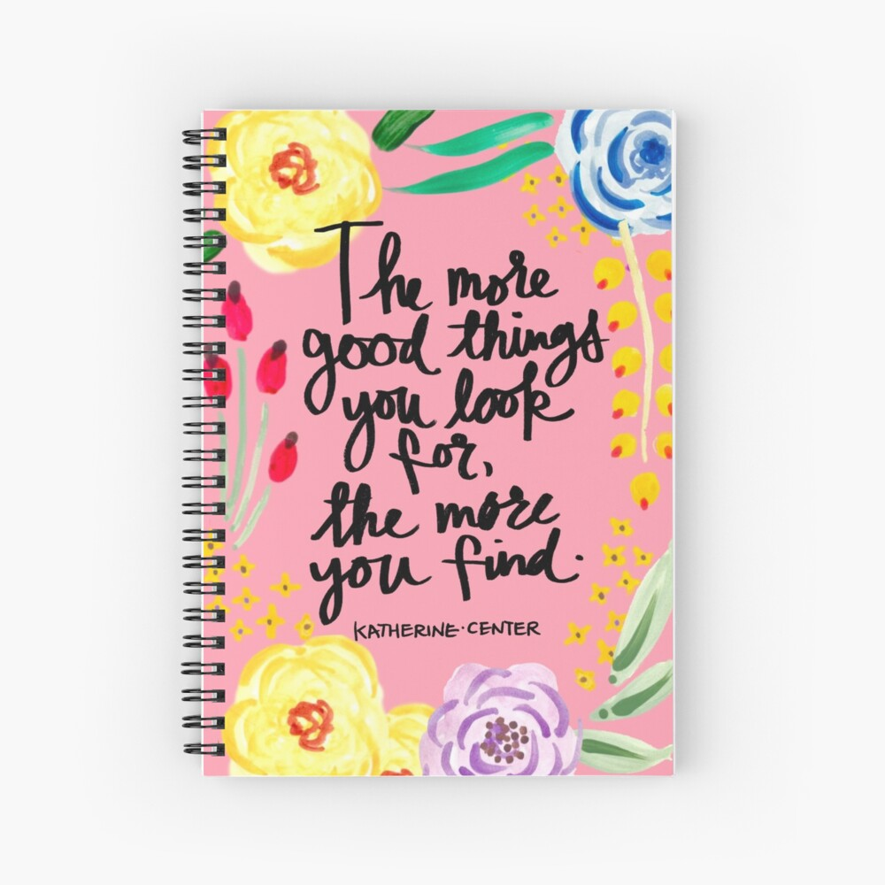 Good Things Spiral Notebook