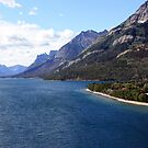Waterton Lake from Prince of Wales by PPPhotoArt