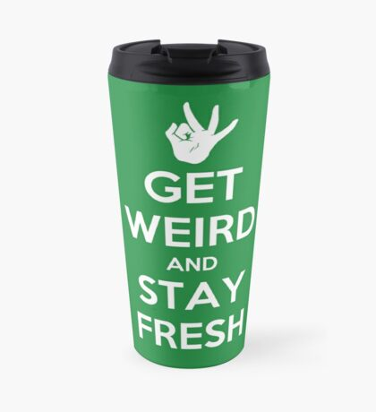 Stay Fresh Travel Mug