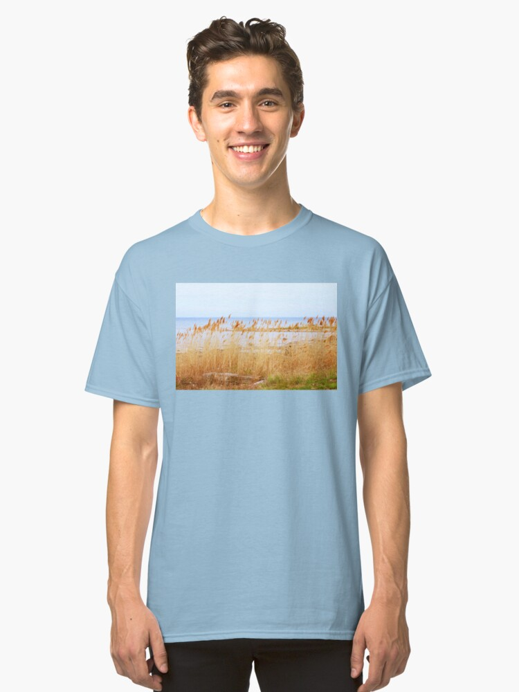 Afternoon at the Beach Classic T-Shirt Front