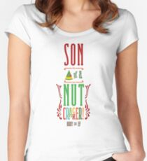 Buddy the Elf - Son of a Nutcracker! Women's Fitted Scoop T-Shirt