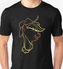 AppleJack: Happy Outline T-Shirt