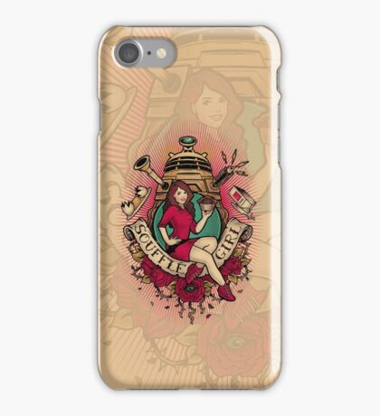 Souffle Girl iPhone Case/Skin