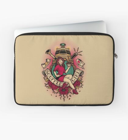 Souffle Girl Laptop Sleeve