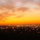 Sunset In Johanesburg  by David  Preston