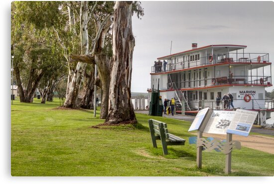Ps Marion at Mannum by Dave  Hartley