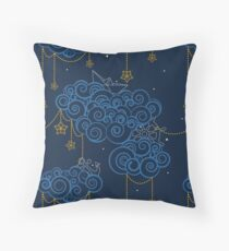 Nautical Skies Throw Pillow