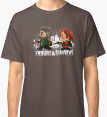 Chibi Joel and Ellie Classic T-Shirt