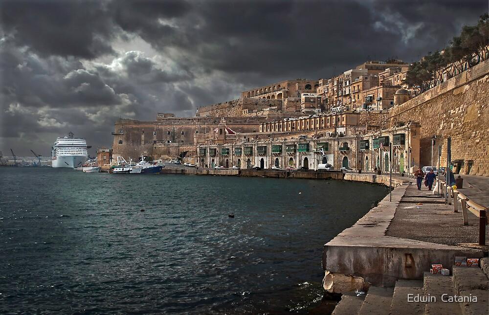 Jetty Valletta, Malta  by Edwin  Catania