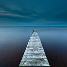The jetty by Kim Hansen