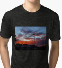 SUBURBAN SUNSET Tri-blend T-Shirt